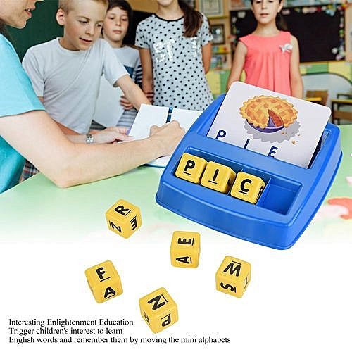 【Best Birthday Gift】Children Educational Toys English Learning 3D Composite Picture Puzzle Matching Alphabets Set