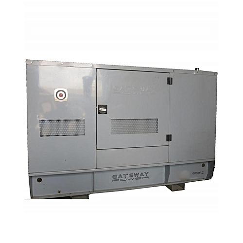 36 KVA Soundproof Diesel Generator GP36 - White/Silver