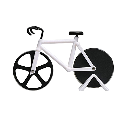 Bicycle Shape Pizza Cutter(White)