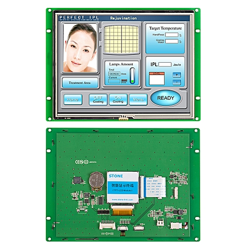 "8.0"" HMI Serial Interface High Resolution TFT LCD"
