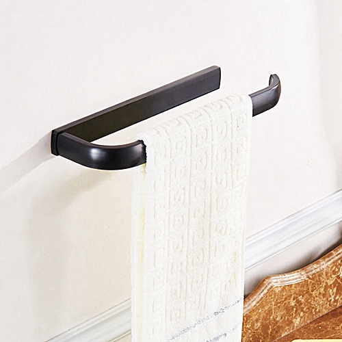 KCASA KC-BR549 Bronze Towel Rack Wall Mounted Towel Holder Rust Protection For Bathroom Accessories