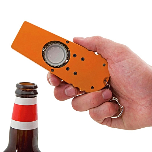 ABS Ejection Beer Bottle Opener Bottle Open Device With A Handy Key Chain