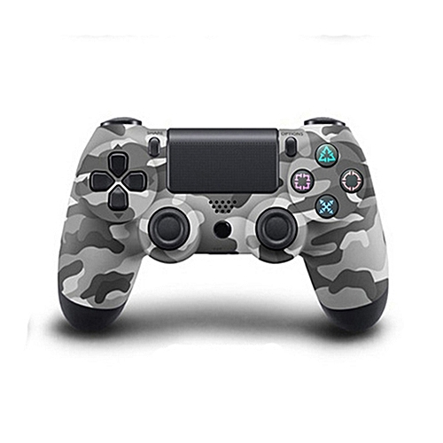 Wireless Bluetooth Game Controller Gamepad For Sony PS4 Color:Gray Camouflage