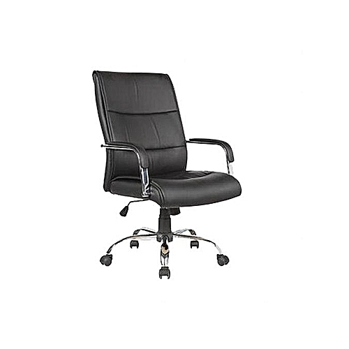 High Quality Leather Director Office Chair - (Z107X) - Black