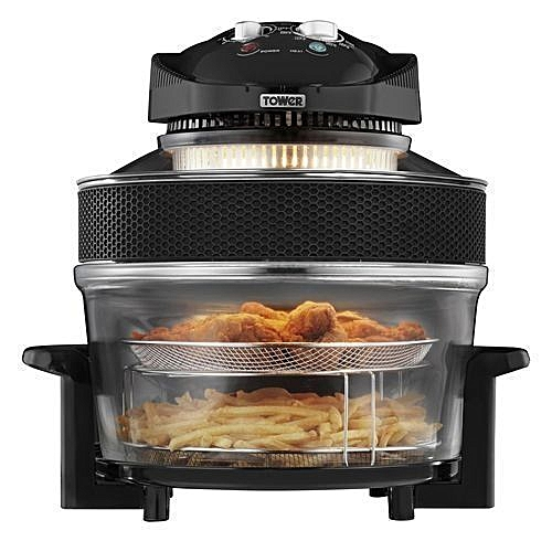 Tower Health Fryer - 80% Less Oil, Low Fat - 17 Litre