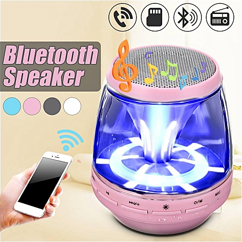 Mini Portable LED Bluetooth Wireless Speaker Bass For IPhone IPad Samsung Tablet