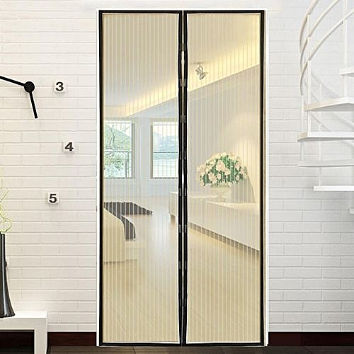 Hands Free New Screen Net Door With Magnets Anti Mosquito Bug Curtain