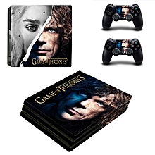 Game Of Thrones Winter Is Coming PS4 Pro Skin Sticker For PlayStation 4 Pro Console And Controller PS4 Pro Stickers Decal Vinyl(#YSP4P-3403) for sale  Nigeria