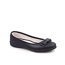 Heiress Comfy Flats - Black