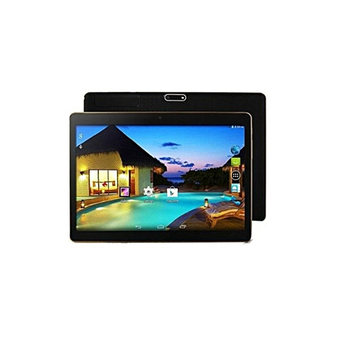 10.1 Inch 4G+64G Tablet Fits For Android System 6.0 HD Display Screen Plastic Tablet