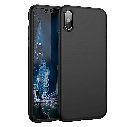 best service 2ff4a 8f64a IPhone X 360° Full Body Case, Mosafe Ultra Thin Slim Matte Shockproof  Fronted Hard PC 3 In 1 Protective Back Cover Bumper Bundle With [ Mosafe  Screen ...