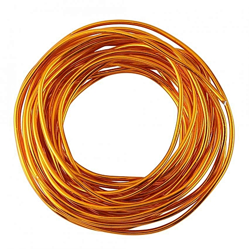 5 Meters / Roll 2mm Colorful Oxidation Aluminium Wire DIY Accessories For Jewelry Making
