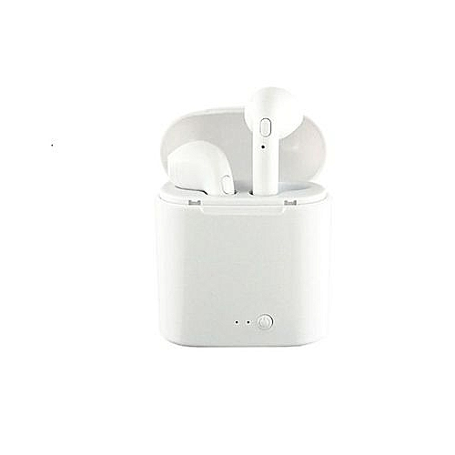 I7s TWS True Mini Wireless Headphones Bluetooth Earbuds Wireless Bluetooth  Earphone Hands Free Noise Cancelling In Ear Headset Airpods With Portable