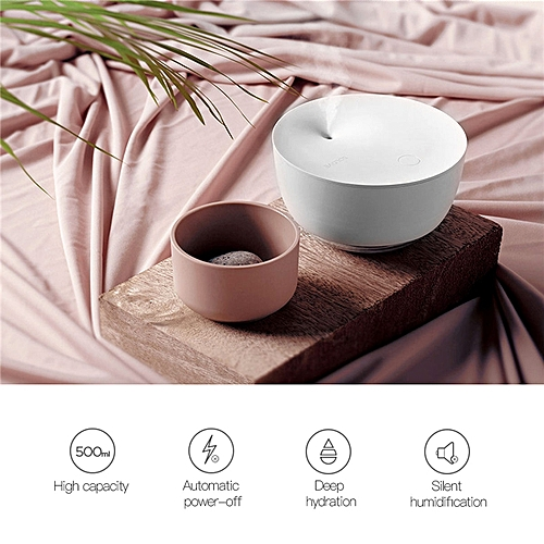 500ml Air Humidifier Silent Operation With Auto-power Off Protection And Warm LED Light