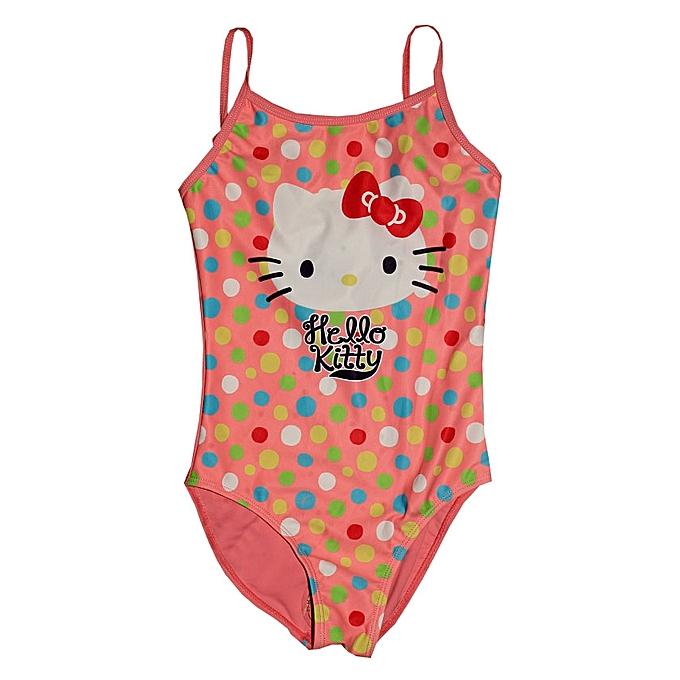 6f69ee4806 Hello Kitty Girls Swim Suit- Pink   Jumia NG