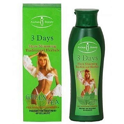 Aichun Beauty 3 Days Powerful Green Tea Slimming Massage Cream -   200ml