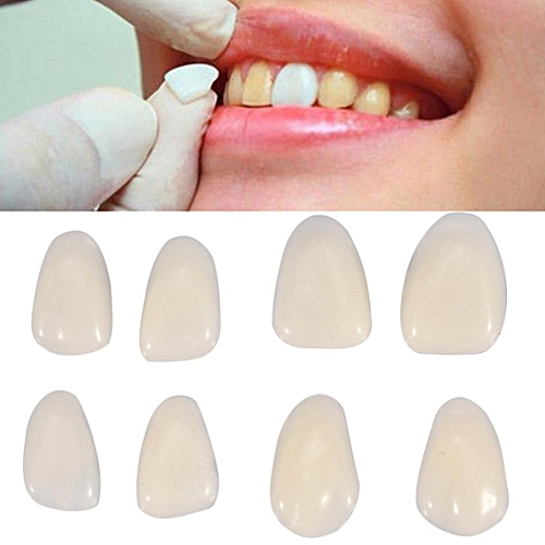 70PCS/Bag Teeth Veneers Resin Anterior Upper Temporary Crown For Dental  Oral Care