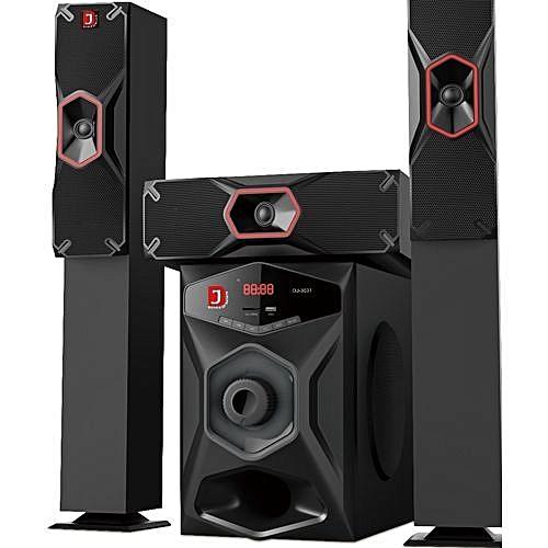 DJ 3031 Powerful Bluetooth Home Theater- Latest Model Black