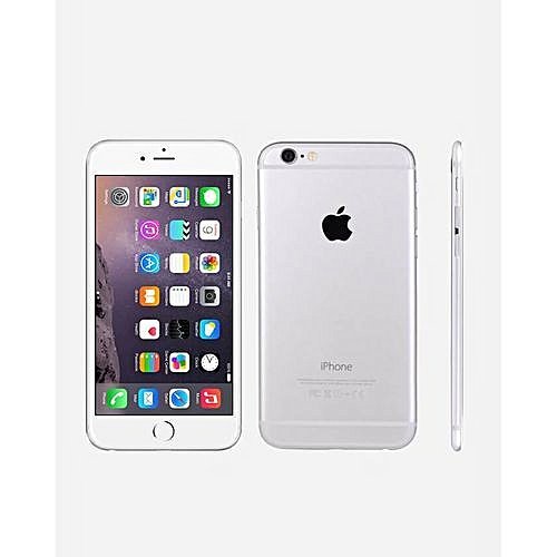 IPhone 6 4.7 Inch 1GB + 16GB 8MP + 1.2MP Finger Sensor 4G LTE Smartphone (Gift) – Silver