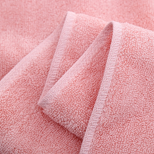100% Cotton Bath Towels Super Soft Highly Absorbent Hand Towels Pink