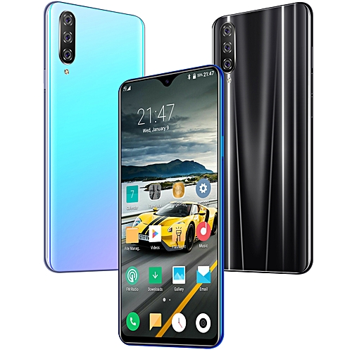 Upgraded Version M9 Android 9.1 Smart Phone 6.5 HD+ Samsung Screen''Dual 8+128GB