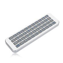 White  IPazzPort KP - 810 - 30K Mini Wireless Keyboard  144111