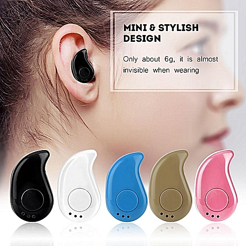 Mini Wireless In-Ear Bluetooth V4.1 Hands-free Earphone Headphone Sports Headset