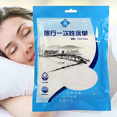 Disposable Bed Sheet Hygienic Travel Necessity Non Woven Fabric Baby Diapers Liner Portable Bedding