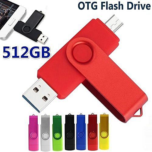 OTG USB Flash Drive 512GB/1TB/2TB Mobile Pen Drive Memory Stick U Disk