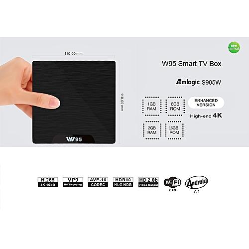 TV Box 1.2GHz WiFi Android 7.1 2GB DDR3 + 16GB EMMC