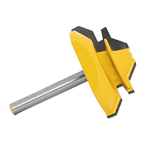 45 Degrees Tenon Knife Alloy Machine Cutter - Yellow