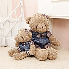 Soft Stuffed Animals Dressed Teddy Bear Plush Dolls Couple Doll Bears Birthday Gift  Specification:Female Models Height:Carat 55CM