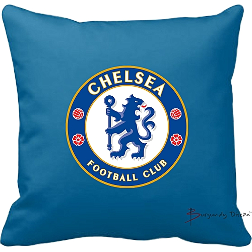 Club Football Throw Pillow (Chelsea FC)