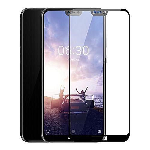 Nokia 6.1 Plus Screen Protector, Tempered Glass For Nokia 6.1 Plus (Nokia X6)