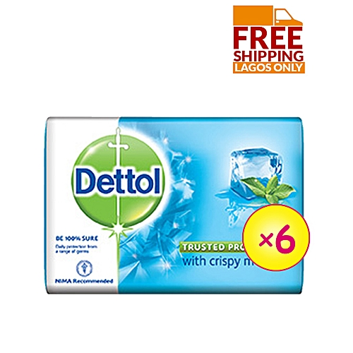 Best Ever Cool Anti-bacterial Soap 70g - Pack Of 6 + Free Shipping ( Lagos )