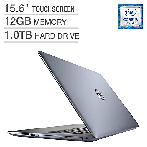 Inspiron 15- 5570 -Intel Core I3 - TOUCHSCREEN - 12GB RAM,1TB HDD, Windows 10- 32GB Flash- Mouse