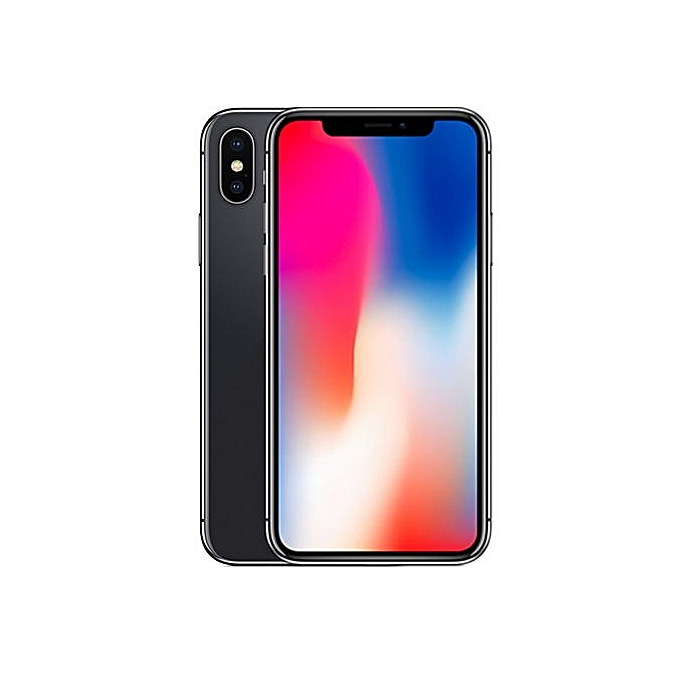sale retailer 65107 ffbf3 IPhone X 5.8-Inches Super AMOLED (3GB RAM, 256GB ROM) IOS 11.1.1, (12MP +  12MP) + 7MP 4G LTE Smartphone - Space Grey