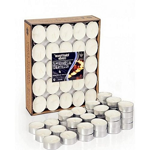 Tea Light Candles(50 Piece In Pack)