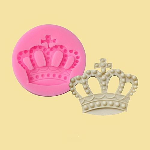 Crown Shape Fondant Cake Mold Decoration Tools Mould Silicone Handmade