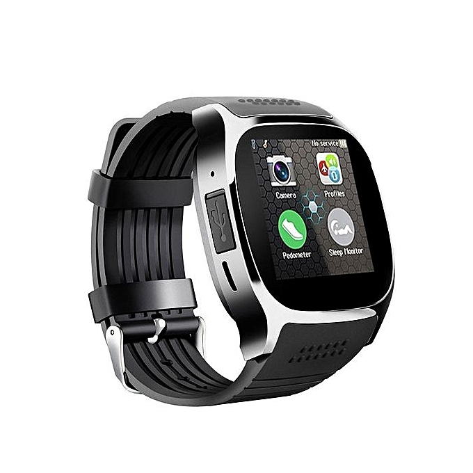b047d3db7b Generic T8 Bluetooth Smart Watch Support SIM TF Card Camera ...