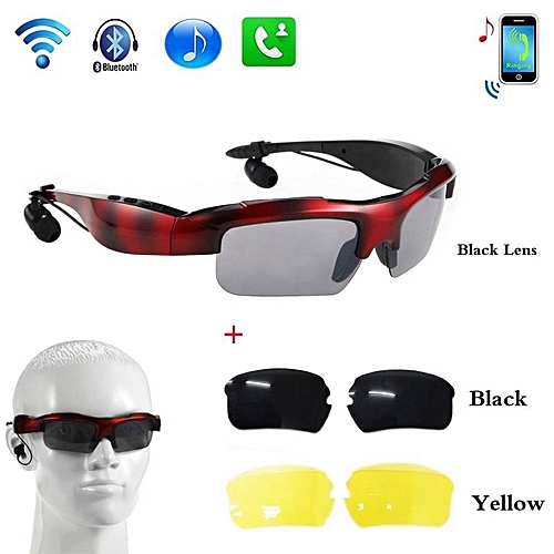bd60707d9941 Glorystar VANPIE Wireless Bluetooth 4.0 Stereo Headset Driving Call Music  Handsfree Smart Sunglasse Sport Riding Eyes Glasses Smart Sunglass