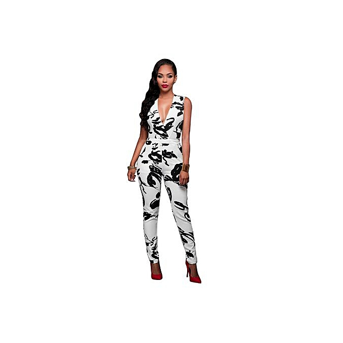 9b1333931ac0 Generac summer rompers women jumpsuit combinaison femme printed jpg 680x680 Sexy  white overalls