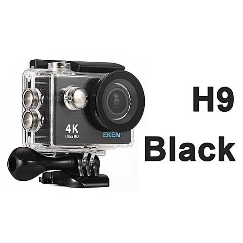 EKEN H9 Ultra HD 4K 25fps Wifi Action Camera 2-inch LCD Sports Cam Camcorder - Black