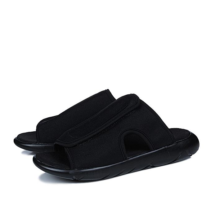 2233e1117d0 Fashion Mens Slide Sandals With Velcro Strap