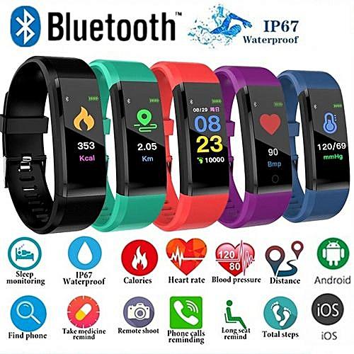 ID115Plus Smart Band Sport Bluetooth Fitness Smart Watch