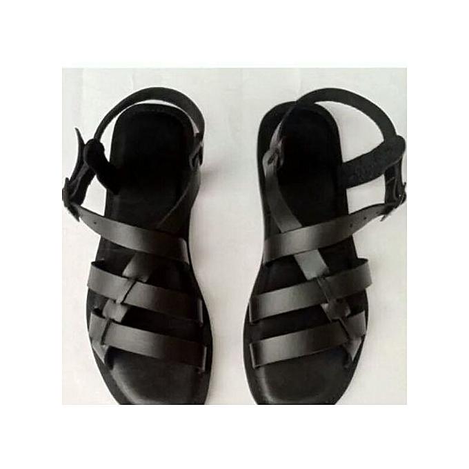 3ae81ae353207 Open Toe Men's Sandals - Black