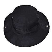 a23d1bc7698 Bucket Hat Boonie Hunting Fishing Outdoor Wide Cap Brim Military BK