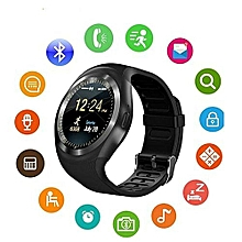 7c51bee220f Y1 Smart Watch - SIM  amp  Bluetooth Supported