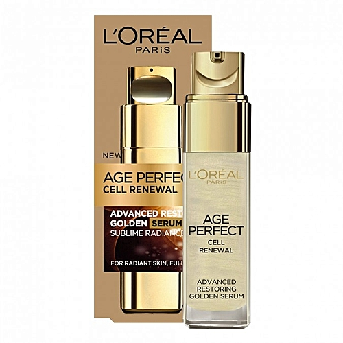 Age Perfect Cell Renewal Golden Serum by L'Oreal #5
