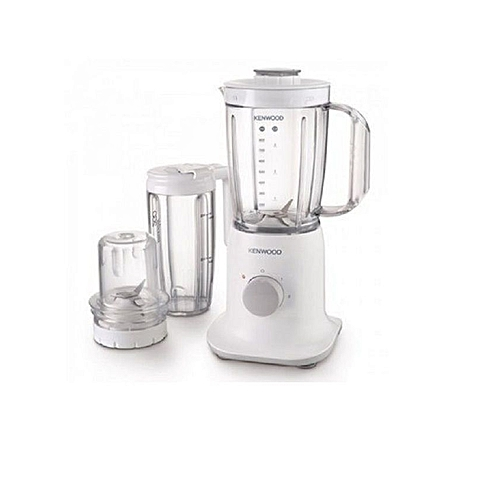 3-in-1 Blender With Smoothie To Go BL237 - White